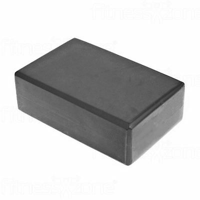 Yoga Block Pilates Foam Foaming Brick Stretch Health Fitness Exercise Gym Black