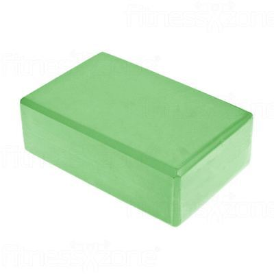 Yoga Block Pilates Foam Foaming Brick Stretch Health Fitness Exercise Gym Green