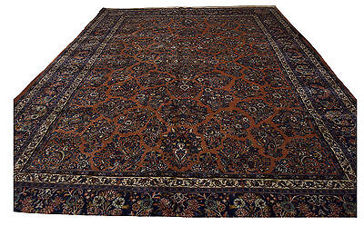 375x275 CM Tappeto Carpet Tapis Teppich Alfombra Rug (Hand Made)