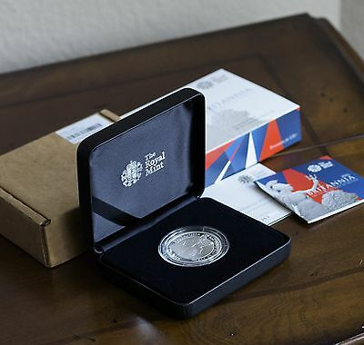 2016 Great Britain 2 Pound 1 Oz Proof Silver Britannia form the Royal Mint