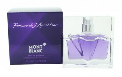 Mont Blanc Femme Eau De Toilette 50Ml Spray - Women's For Her. New
