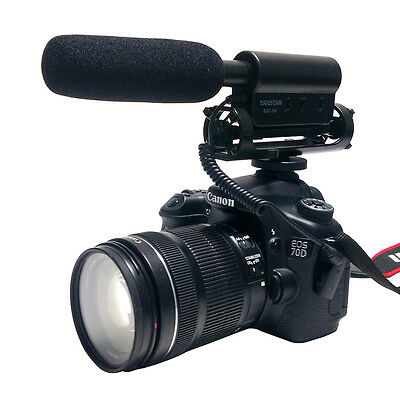 3.5mm Camcorder Photography Recording interview microphone For Canon Camera DSLR