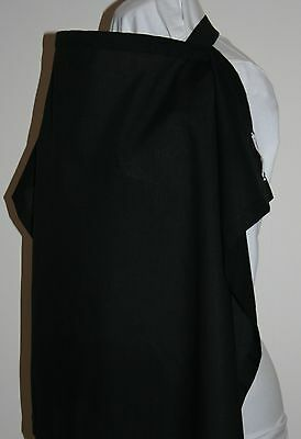 Brand NEW Breastfeeding/Nursing Cover - UK Made - 100% cotton - Black