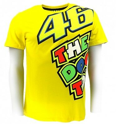 Valentino Rossi VR46 'The Doctor' Mens MotoGP T-Shirt Large or XL