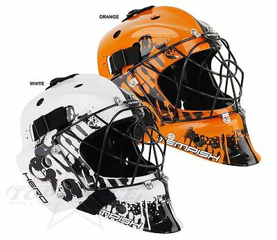Torwart Maske Tempish Hero Inlinehockey Floorball Farbig