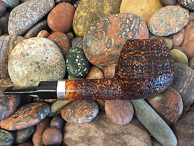 highly collectible Freehand Pfeife - pipe – pipa, Handmade by Holmer Knudsen