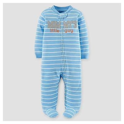 Baby Boys' Mommy's Little Guy Cotton Sleep N' Play - Just One You™ Made ...
