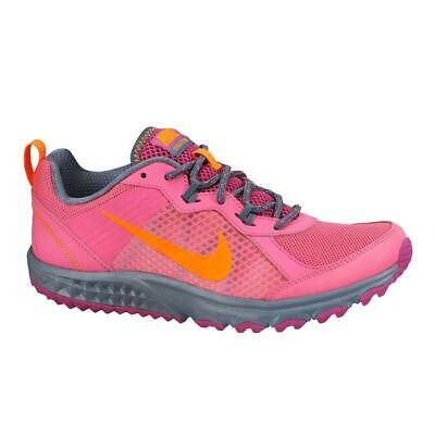 check out 95cc4 b54b3 Womens NIKE WILD TRAIL Pink Pow Textile Trainers 643074 602 UK 4.5 EUR 38  US 7
