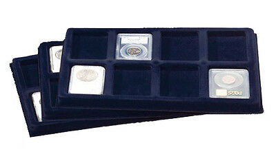 6 Presentation Coin Trays for Certified NGC PCGS Slab Holder Collection Showcase