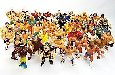 Vintage ☆ BUNDLE JOBLOT X47 WWF HASBRO Action Figures WWE Wrestling 90s Original
