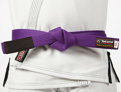 Tatami Fightwear Adult BJJ Rank Purple Belt