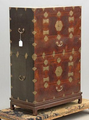 Beautiful Antique Korean chest-over-chest