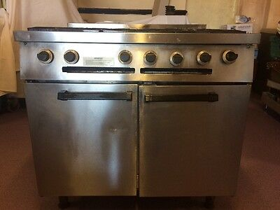 Commercial Falcon 6 Burner Natural Gas Cooker with Large Oven