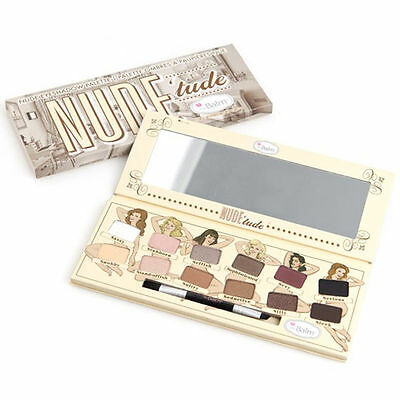 12 Colors The Balm Nude Tude Warm Matte Eyeshadow Shimmer Palette Makeup Kit Set