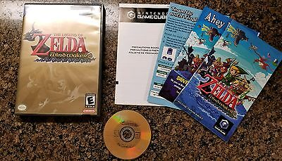 Legend of Zelda: The Wind Waker. Nintendo GameCube/Wii. Black Label. Rare. Link