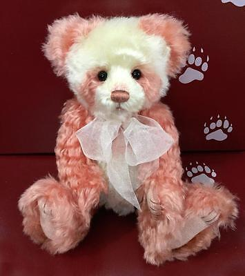 ANNIVERSARY KYLIE - Isabelle Lee Mohair LE #478 Charlie Bear **FREE US SHIP**