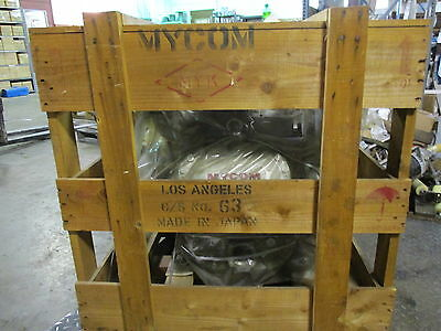 Mycom F6C2 Reciprocating Compressor #421119J Model:f6C2 Sn:11176 New In Crate