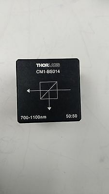 Thorlabs CM1-BS014 30mm Cage Mounted 700-1100nm 50/50 Non-Polarizng Beamsplitter