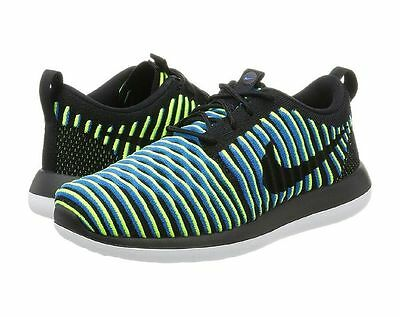 816990498683 NIKE WOMEN S ROSHE Two Flyknit Running Shoes Pink Olive 844929 300 ...