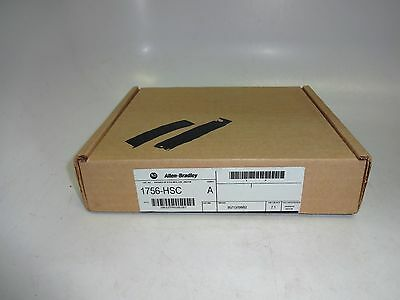 New Sealed Allen Bradley 1756-HSC /A ControlLogix 2/4 High Speed Counter F/W 2.1