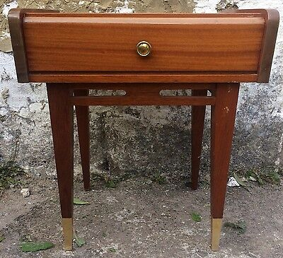 Vintage French Side Table - Night Stand - Mid Century
