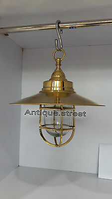 Nautical Light Marine Ship Brass Hanging Outdoor Passage Light Retro Vintage 8 P