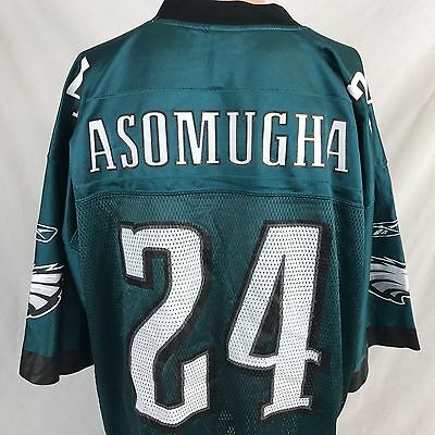 5ee48996 PHILADELPHIA EAGLES NNAMDI Asomugha #24 NFL Youth Jersey, Green ...
