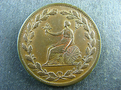Halfpenny 1813 Withers 610 VC Davis 39 Token British Copper Company Wi