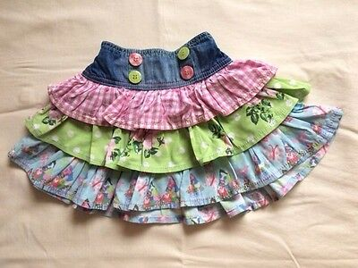 Next Layered Colourful Skirt For Baby Girl 18-24 months