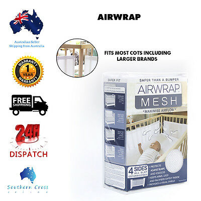 New Free Shipping AIRWRAP Safer Than A Cot Bumper