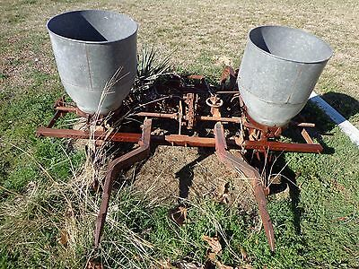International Harvester Fast Hitch Two Row Planter