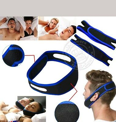 Anti Snoring Chin Strap Belt Stop Snore Device  Jaw Support  Solution