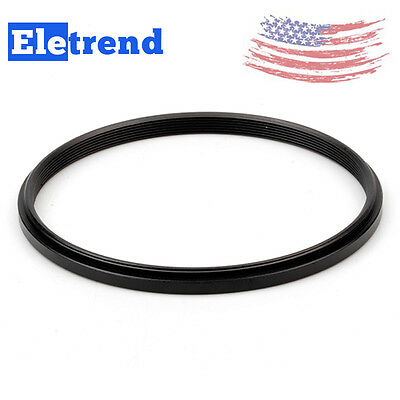 2Pcs 86-82mm Step-Down Metal Lens Adapter Filter Ring / 86mm to 82mm Accessory