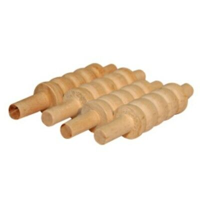 Buffalo Sports Wooden Cricket Stump Bails - Set Of 4 (Crick116)