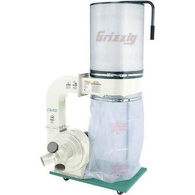 G0548ZP Grizzly 2HP Canister Dust Collector w/ Aluminum Impeller