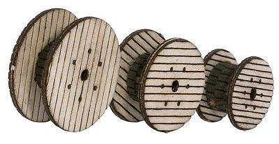 NOCH 14438 TT Gauge, Cable reels (Laser-Cut minis Kit) #new original packaging#