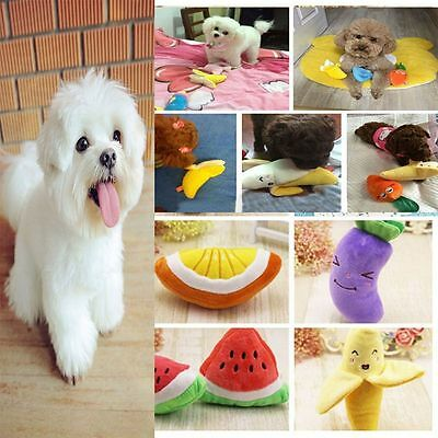 Sound Puppy Dog Chew Fetch Pet Products Plush Toys Squeaky