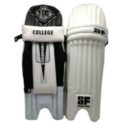Stanford College Cricket Batting Pads - Multiple Sizes - Double Wing Design