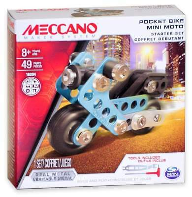 Meccano Starter Set - Pocket Bike (16204)