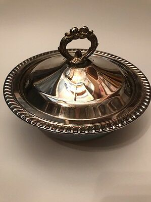 """Silver Plated Replacement Serving Chafing Dish Pan 3"""" X 8""""-9"""" Eales 1779"""