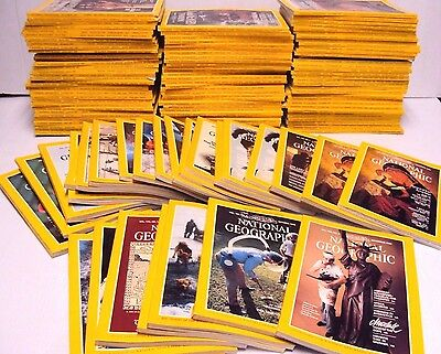 National Geographic Magazine U-Pick Your Issue Lot Set Year 1961-1979 No Map