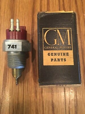 1960 1961 1962 Oldsmobile Engine Temp Sending Unit Switch Nos Gm 1998741
