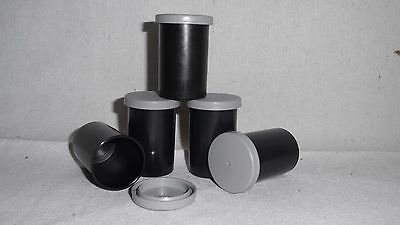 10 Empty Film pots containers or 35mm Film canisters for Geocaching or Storage