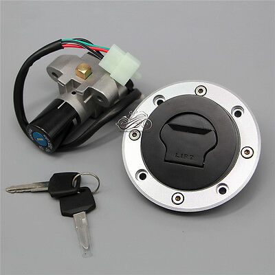New Ignition Switch Gas Cap Cover Key Set fit for TL1000R GSXR1000 K1 GSF1200