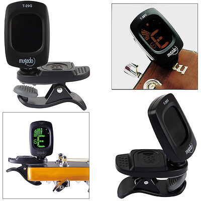 Snark Clip-on Guitar Tuner For Electronic Digital Chromatic Bass Violin Ukulele