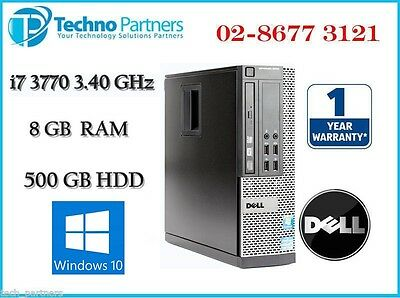 Dell Optiplex 9010 SFF Computer 3rd i7 3770 3.40G 8G 500G Win10 Pro 1Yr Warranty
