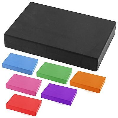Yoga Block Pilates Foam Foaming Brick Stretch Health Fitness Exercise 30cm Size