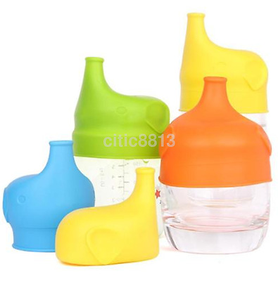 Useful Silicone Sippy Cup Lids Spill Proof Elegant Elephant Design AU