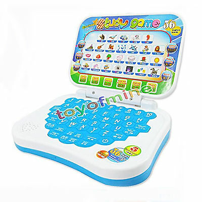 New Baby Kids Pre School Educational Learning Study Toy Laptop Computer Game