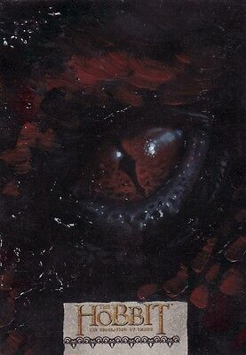 "The Hobbit Desolation of Smaug Ingrid Hardy ""Smaug"" Sketch Card"